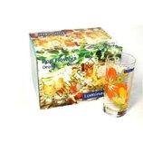 Набор стаканов высоких LUMINARC Pop Flovers Orange 6 пр.