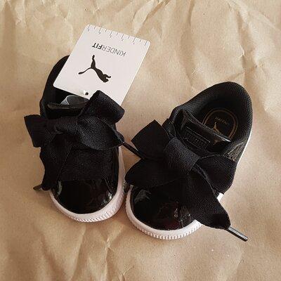 Puma Basket Heart patent white Schuhe Damen in 21075
