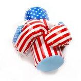 Боксерский набор «Америка» малый. В комплект входит груша и две боксерские перчатки
