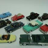 Коллекционные модели машин 1/43 новинки Yat Ming