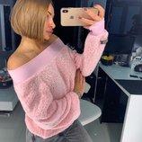Вязаный свитер «BARBI» 42/46,48/52 четыре цвета