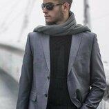 Серый классический пиджак marks & spencer