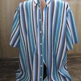 Большая 2XL мужская рубашка 45-46 ворот р 54-56