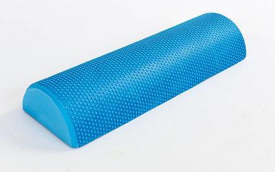 Роллер для занятий йогой массажный 6285-45 полуцилиндр для йоги длина 45см