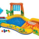 Игровой центр-бассейн Intex 57444 Динозавр 249 191 109см