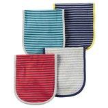 Комплект салфеток салфетка полотенце для мальчика Carters полосатые