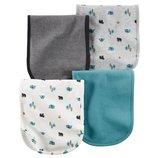 Комплект салфеток салфетка полотенце для мальчика Carters кемпинг