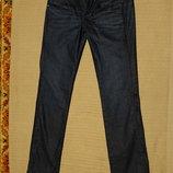 Отличные темно-синие фирменные джинсы G-Star Raw New ford Straight wmn 30/34