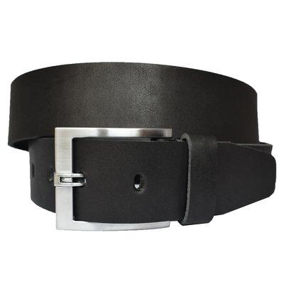 Grand 4.5 см кожаный мужской широкий ремень в подарочной упаковке пояс кожа черный