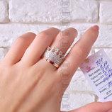 Срібне колечко корона, серебряное кольцо,срібло з напаяними пластинками золота, серебряные украшения