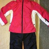 Лыжный комплект Pocopiano куртка и полукомбинезон рост 140см. Сток.