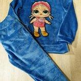Модный костюм для девочек с куколками лол