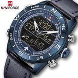 Чоловічий годинник Naviforce Strike 9144 Blue, Гарантия 12 мес.