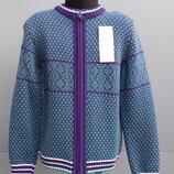 Жакет кофта вязаная для мальчика Тм Дайс , 104-134 см.