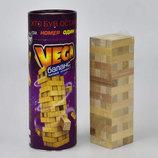 «VEGA» это увлекательная настольная игра, известная как «Пизанская башня».