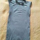 Майка футболка серая фирменная Nike р.44-46