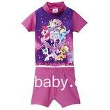 Купальный костюм, купальник детский на девочку My Little Pony 6-12 мес 1-2 года, рост 74/80, 86/92