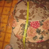 Сумка обшитая бисером текстиль