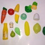 Лот. Набор для кухни кукольная еда продукты липучке игрушка фигурка для куклы пупса еда
