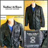 Кожаная куртка от Tailor& Son. оригинал, р.XL