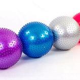 Мяч для фитнеса фитбол массажный Zel 1986-55 диаметр 55см, 4 цвета