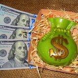 Мыло Мешок долларов ручной работы