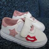 Кроссовки для девочки Губки,22 размер