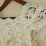 Нежное свадебное платье s,m идеал диадема