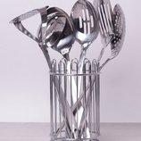 Набор кухонных принадлежностей в стакане KAMILLE 7 пр.