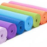 Йогамат коврик для фитнеса и йоги 173см 61см 4мм MS 1847