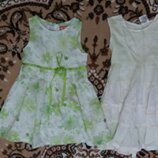 Платья, туники от 6 мес-до 2 лет
