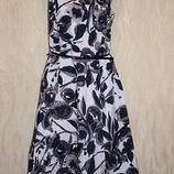 Винтажное котоновое платье BHS , р.16