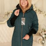 Комфортная Демисезонная куртка с отстегивающимися рукавами 50-58рр
