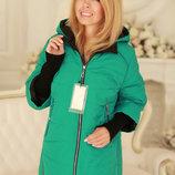 Оригинальная Демисезонная куртка с отстегивающимися рукавами 50-58рр