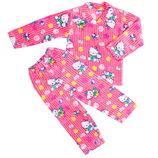 Пижама махра для девочки