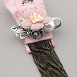 Брошь 'Hanbeishi Корея ' Ткань