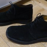Замшевые натуральные мужские ботинки Jones Bootmaker