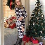 Распродажа Зимнее платье на меху