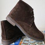 Clarks Men Desert Boot мужские кожаные замшевые ботинки реплика дезерты осень 2018