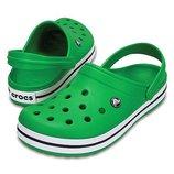 Кроксы Crocs Crocband р.м10-28см. Оригинал