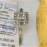 Кольцо перстень новый серебро 925 проба размер 18.5 вес 2.53 гр.