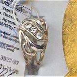 Кольцо перстень новый серебро 925 проба размер 18.5 вес 3.42 гр.