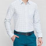 Мужская рубашка белая LC Waikiki / Лс Вайкики в полоску
