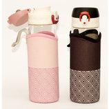 Бутылка Для Напитков Стеклянная С Поилкой В Чехле T92-42 4