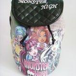 Детский рюкзак monster high, стильный рюкзак монстер хай