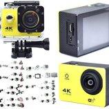 Экшн камера SJ7000R-H9 4К с пультом Новинка 2019г