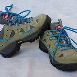 Кожаные деми ботинки кроссовки Olang, Италия, стелька 16.3 см, р.25-26
