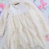 Шикарное пышное платье тюль George