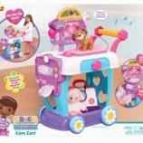 Doc McStuffins Toy Hospital Care Cart Интерактивная клиника Доктор Плюшева