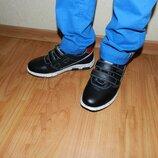 Кожаные туфли на мальчика. Размеры 32-37.